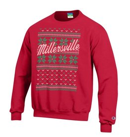 Champion Ugly Christmas Sweater Red