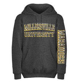 """Eighty 8"" Collegiate Dark Heather Hooded Sweatshirt"