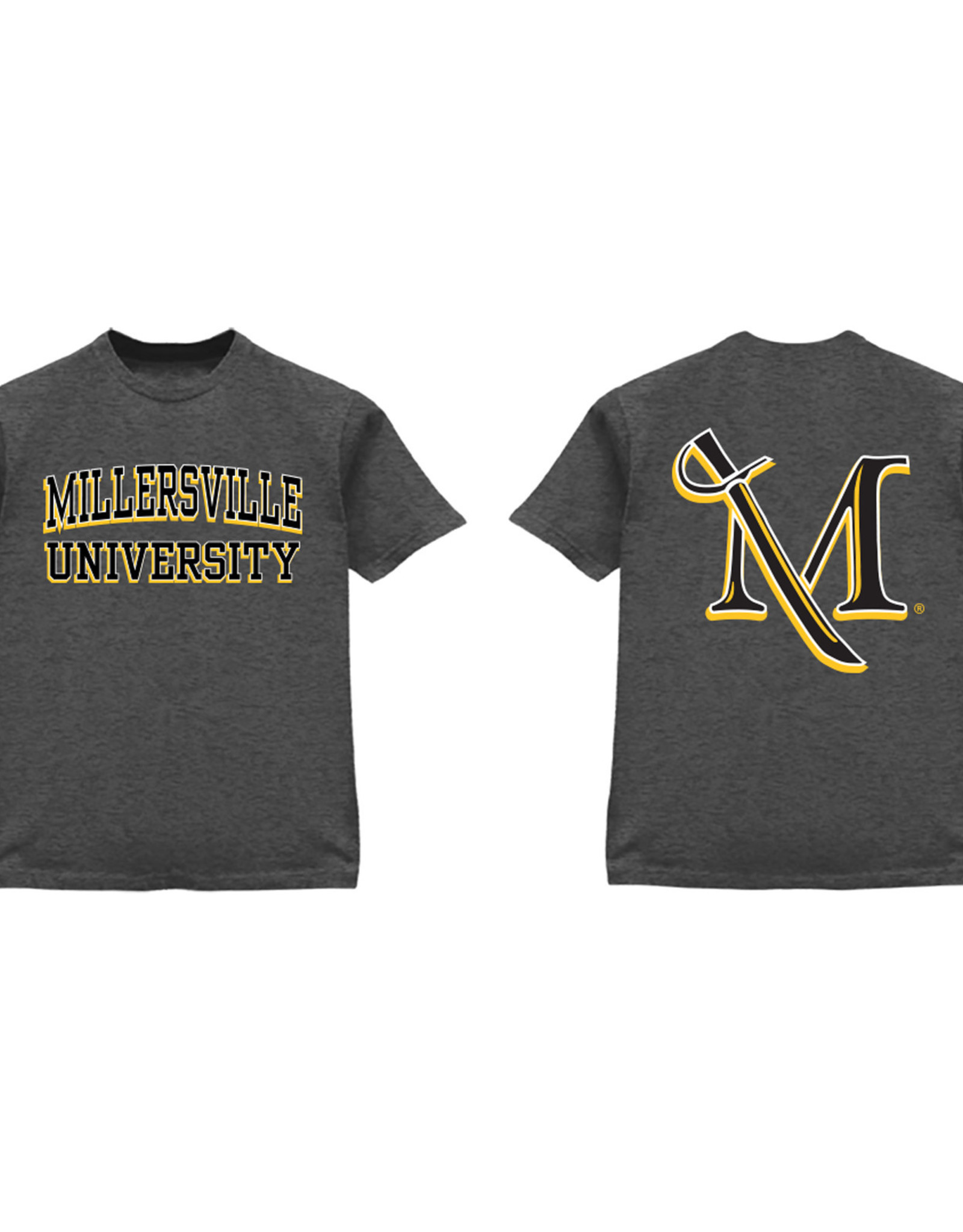 3D Two-Location Grey M-Sword Tee