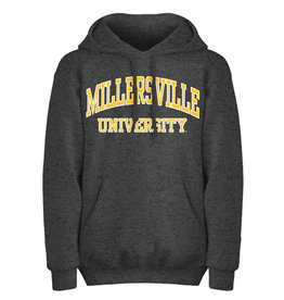 Charcoal Basic Arch Millersville Hooded Sweatshirt