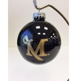 M Sword Glossy Black Ornament