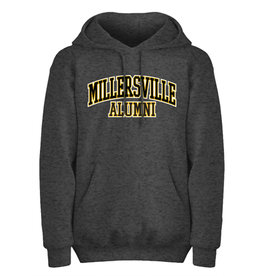 Charcoal Twill Hooded Alumni Sweatshirt
