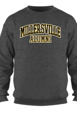 Alumni Charcoal Crew With Twill Applique