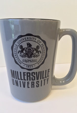 Mu Seal Two Tone Mug - Gray/Black, 16oz