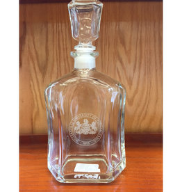 MU Seal Whiskey Decanter