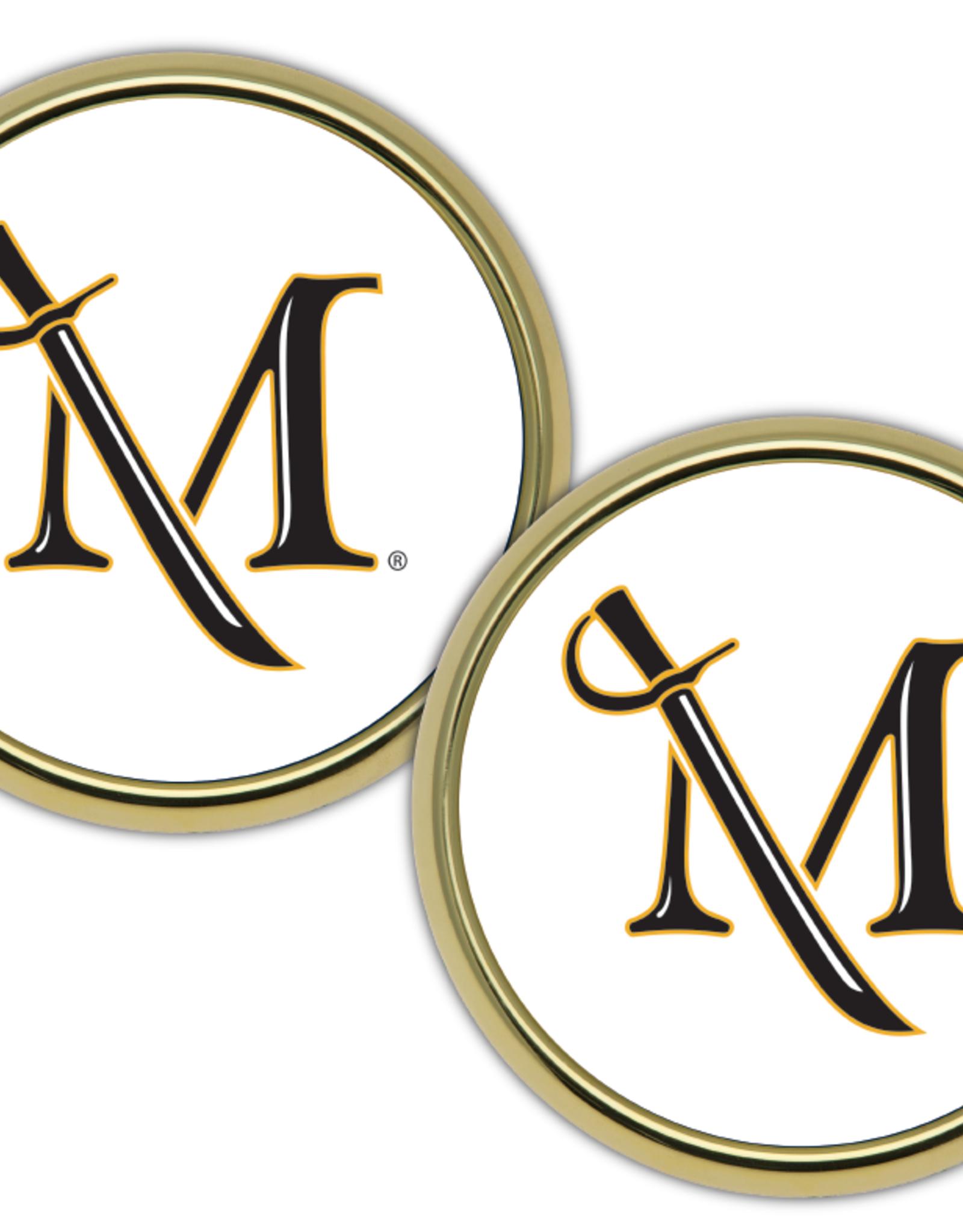 M Sword Coasters Pair