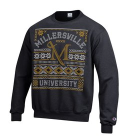 Champion Ugly Christmas Sweater Black