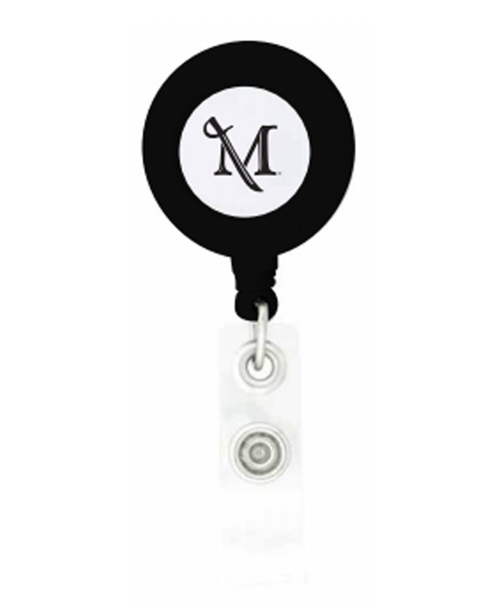 M Sword Badge Holder - Black
