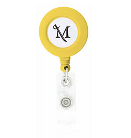M Sword Badge Holder - Yellow