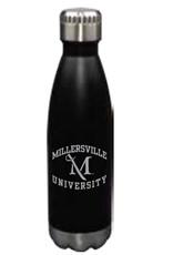 M Sword Glacier Bottle - Black, 17oz