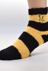 Striped Fuzzy Sock