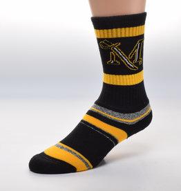 Striped Blanket Sock