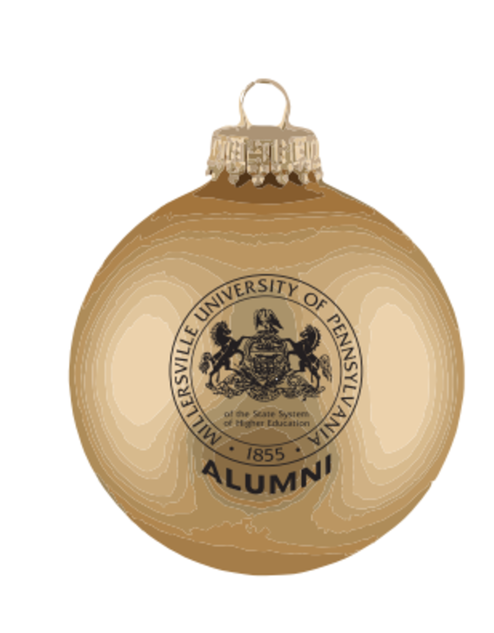 Mu Seal Alumni Ornament