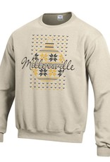 Champion Ugly Christmas Sweatshirt Oatmeal
