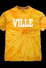 Gold Spider Ville Tie Dye