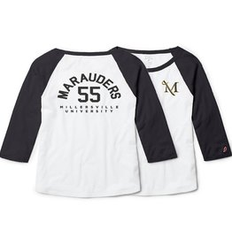 League Freshy Women's Baseball Tee - Sale!