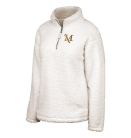 Sherpa 1/2 Zip Winter White