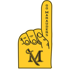 M Sword Foam Finger