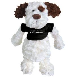 Fuzzy Bunch Dog Black Tee