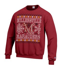 Champion Ugly Christmas Sweatshirt Maroon - Sale!