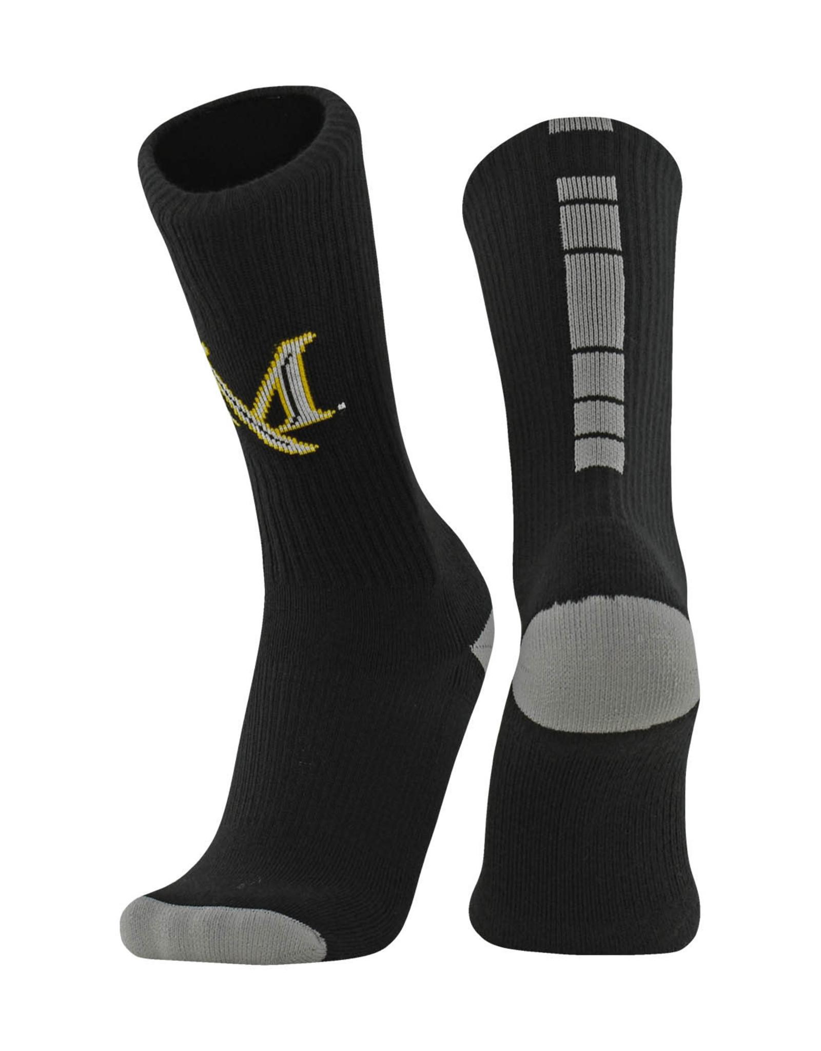 """Comfort Fleece Crew """"Dash"""" Socks"""