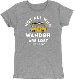 Life is Good Not All Who Wonder Are Lost Tee - Sale!