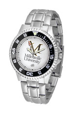 M Sword Men's Gameday Watch - White W/ Steel Band