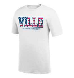 """""""Stars And Stripes"""" Ville Tee White"""