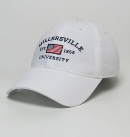 League American Flag White Cap