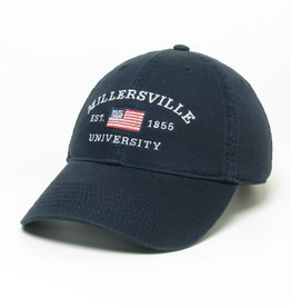 League Millersville Flag Hat Navy