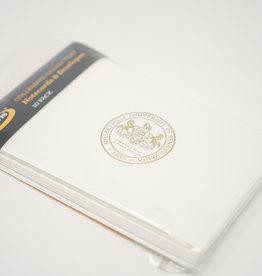 Mu Seal Blank Thank You Cards