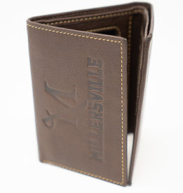 M Sword Trifold Wallet - Brown