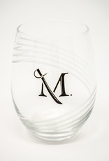 M Sword Stemless Wine Glass