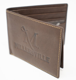 M Sword Billfold Wallet - Brown