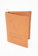 M Sword Leather Id Holder - Tan