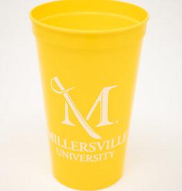 M Sword Stadium Cup - Yellow, 22oz