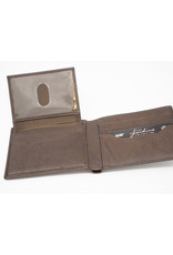 M Sword Billfold Wallet - Brown