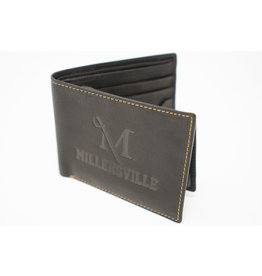 M Sword Trifold Wallet - Black