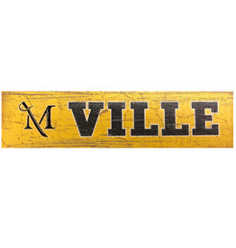League M Sword Ville Plank Magnet