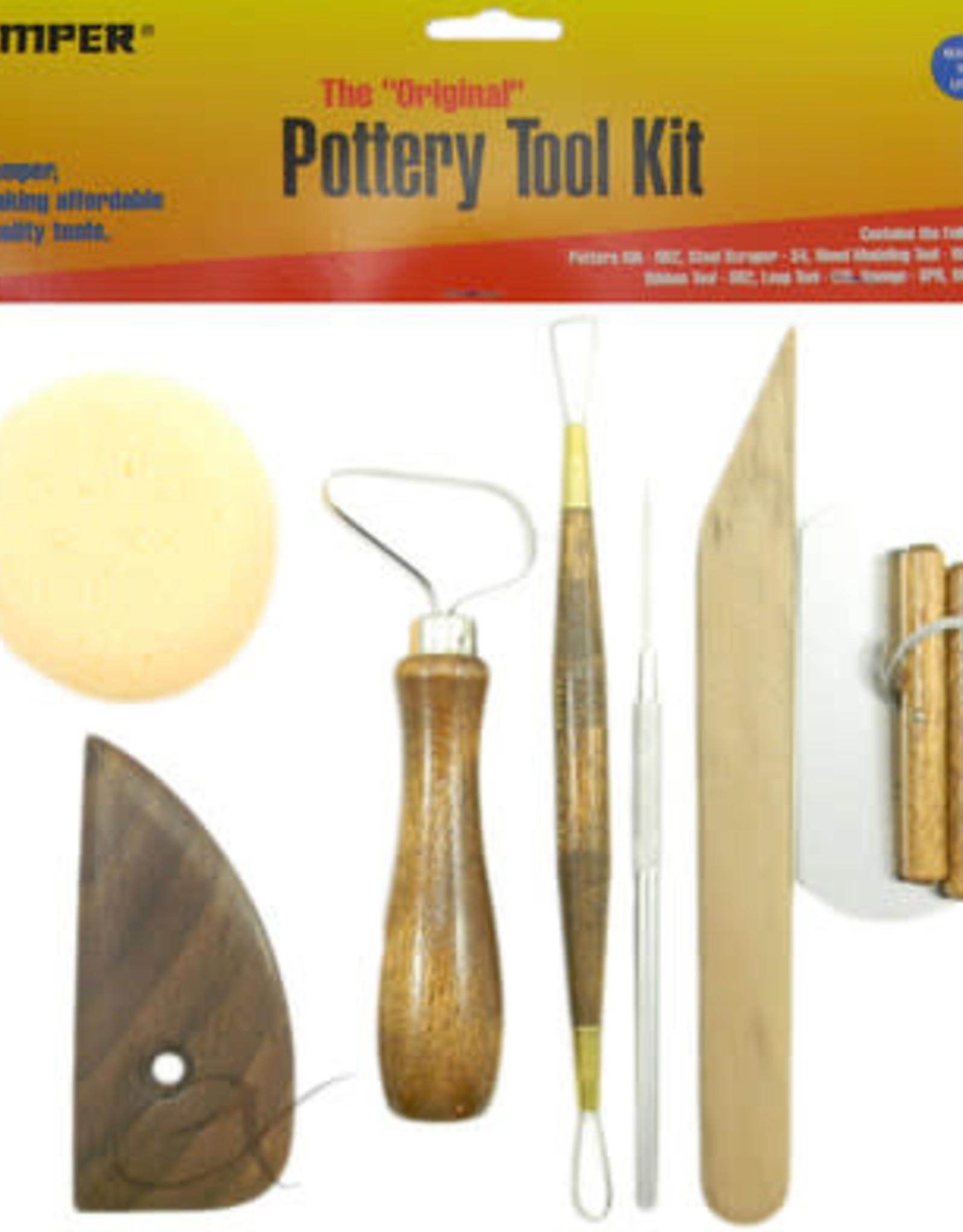 Kemper Pottery Tool Kit