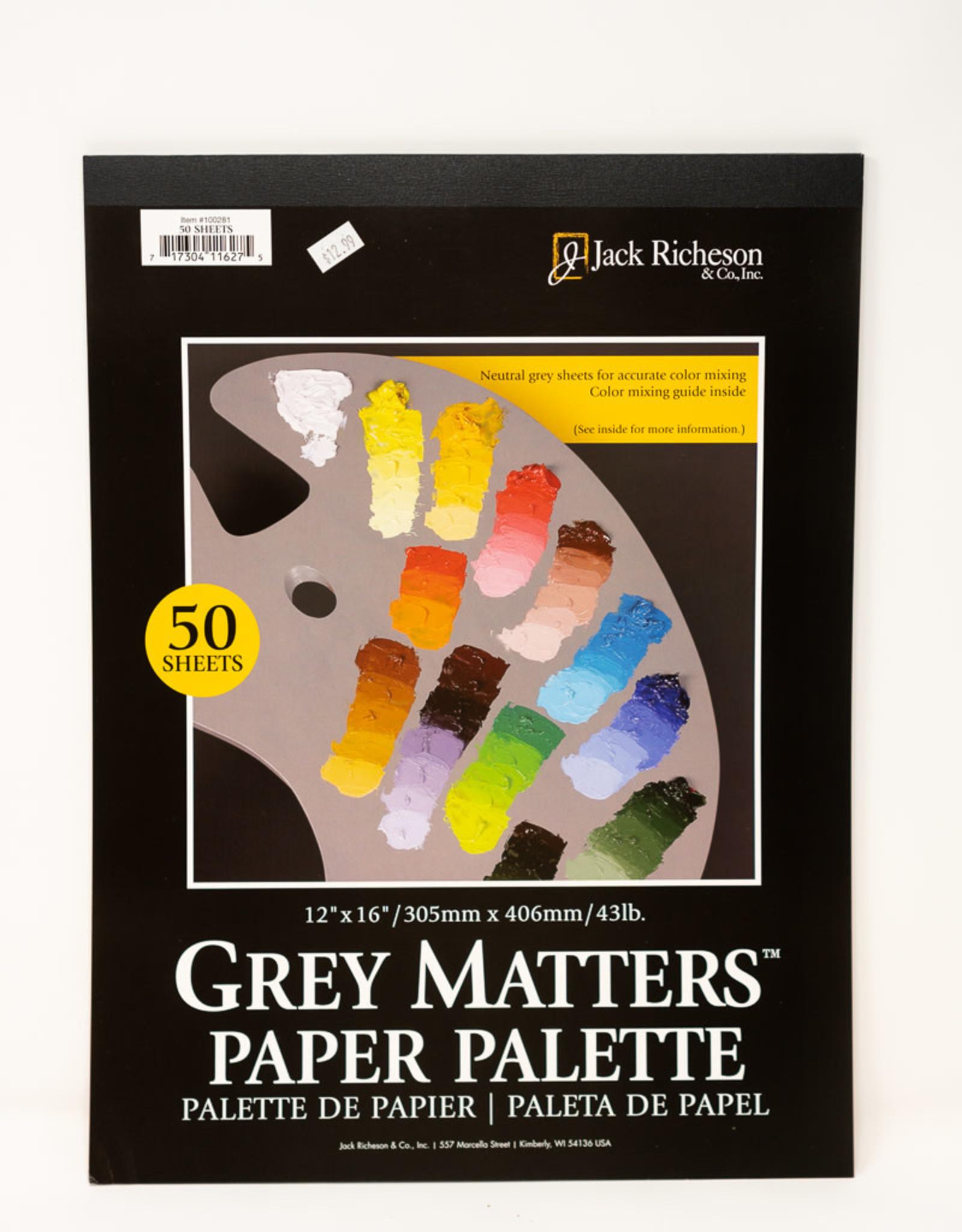 "Grey Matters Paper Palette 12"" X 16"""