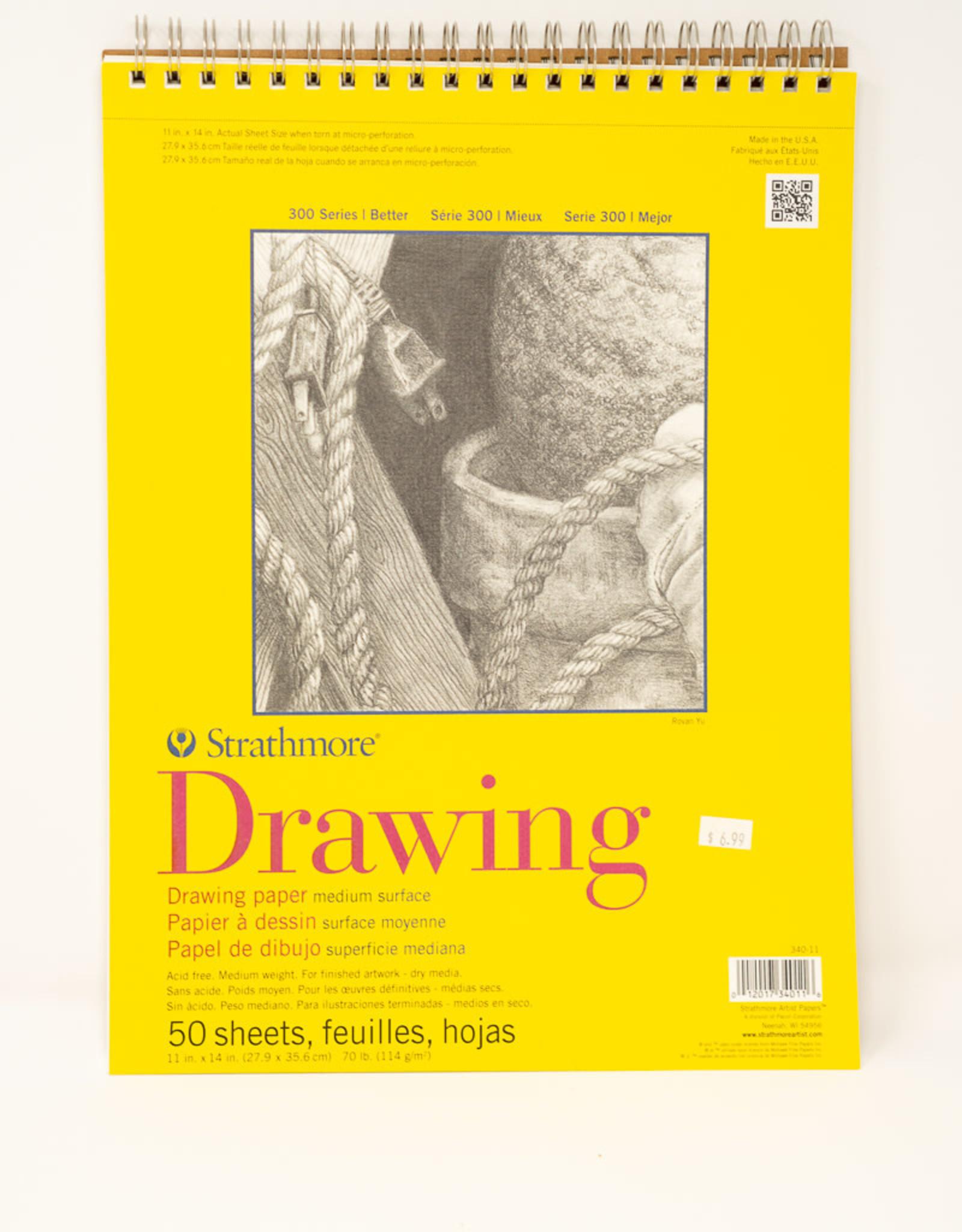 Drawing 11 X 14 Strathmore Spiral