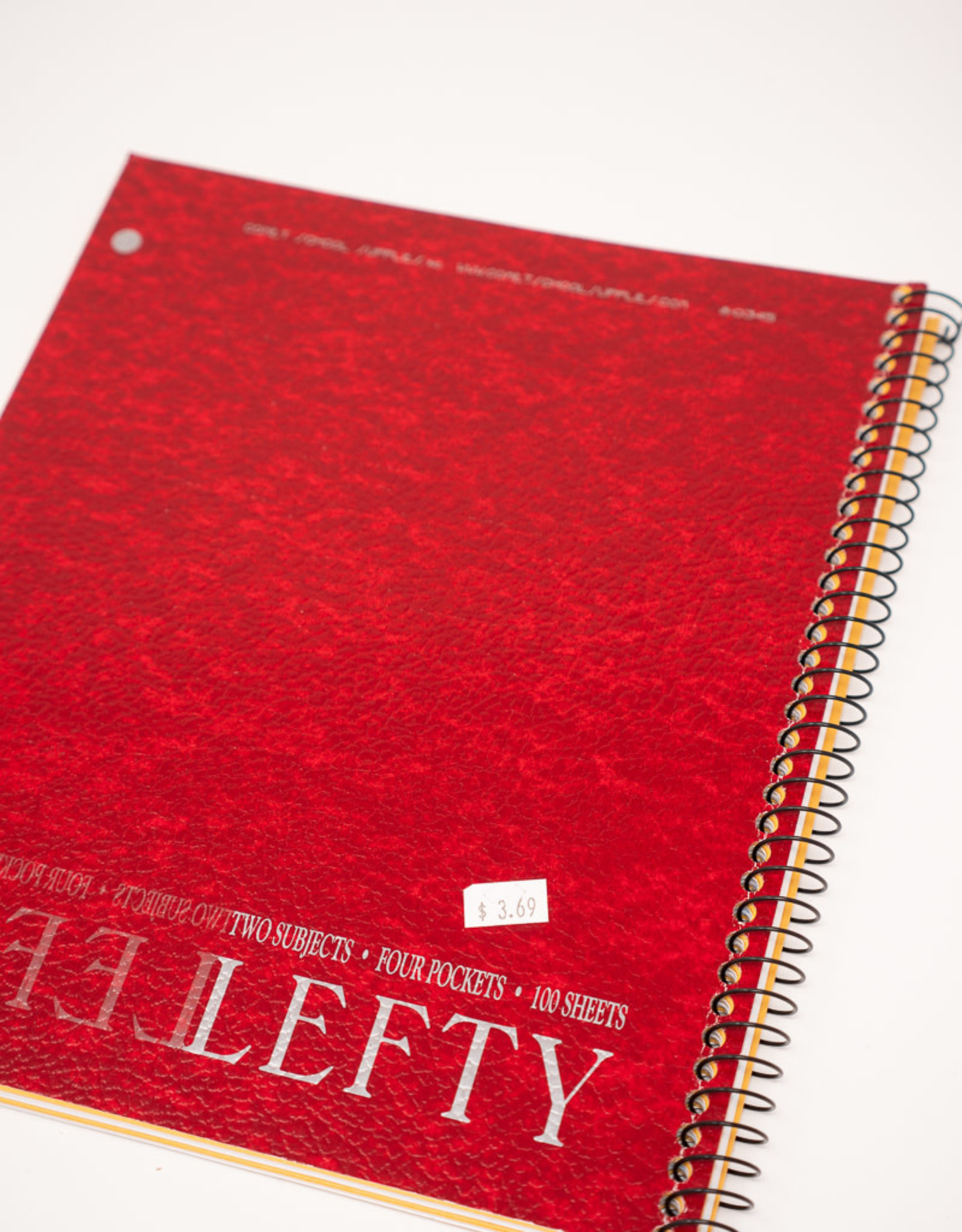 Lefty 1-Subject Notebook