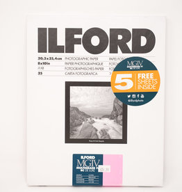 "Ilford Multigrade Iv Deluxe Paper (Glossy, 8 X 10"", 30 Sheets)"