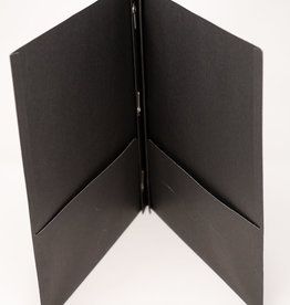 3 Prong Folder - Black