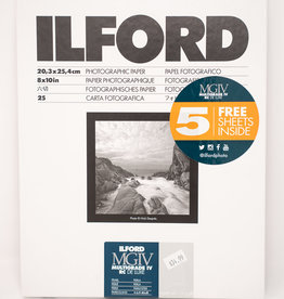 "Ilford Multigrade Iv Deluxe Paper (Pearl, 8 X 10"", 30 Sheets)"