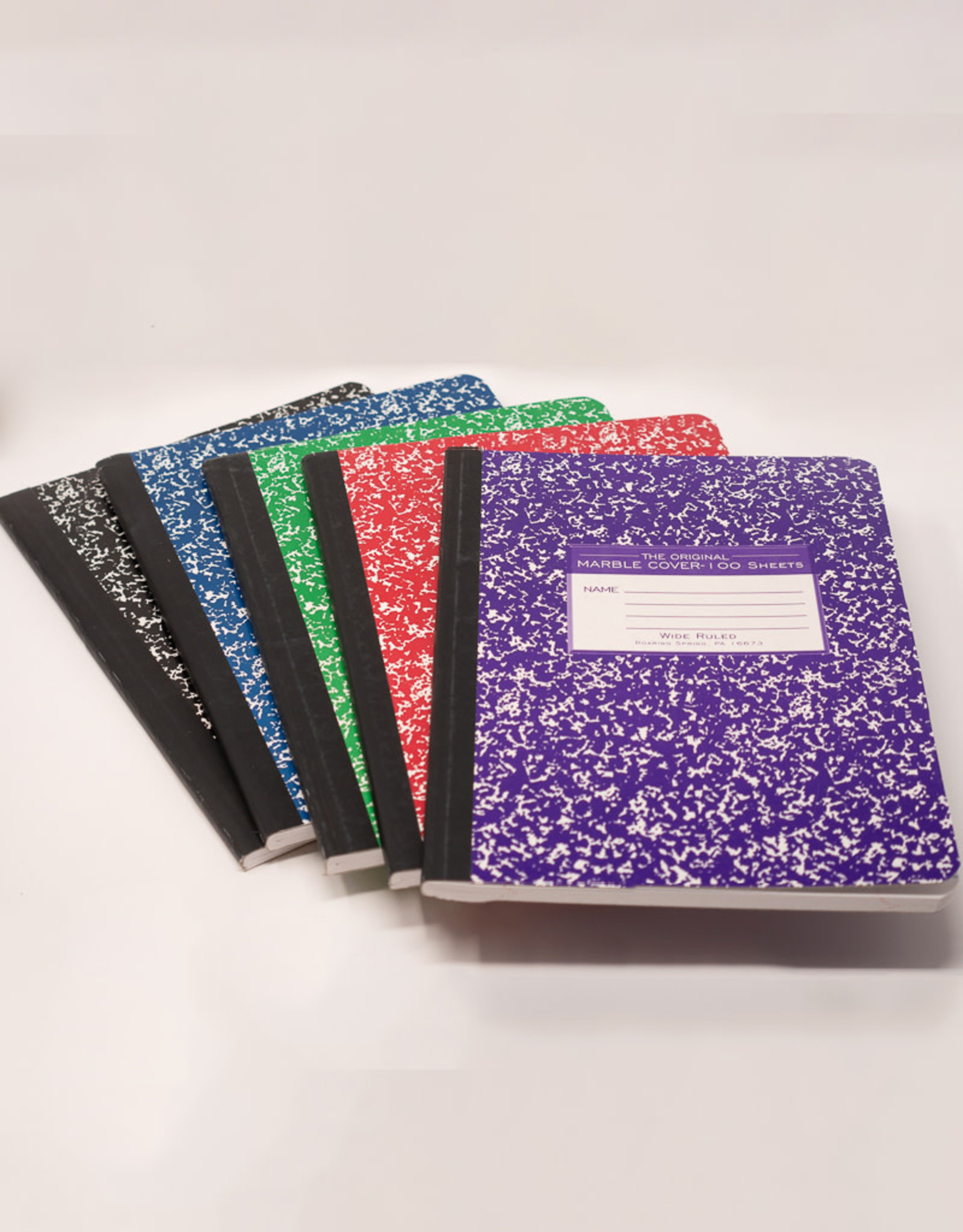 Marble Colors Composition Book