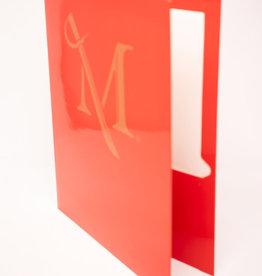 M Sword Folder - Red