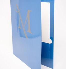 M Sword Folder - Hawaiian Blue