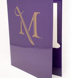 M Sword Folder - Purple